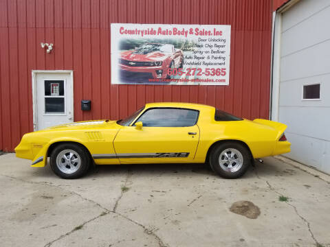 1979 Chevrolet Camaro for sale at Countryside Auto Body & Sales, Inc in Gary SD