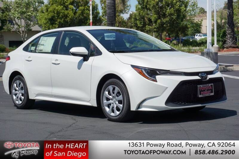 2021 Toyota Corolla for sale in Poway, CA