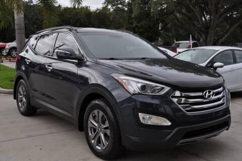 2015 Hyundai Santa Fe Sport for sale at STEPANEK'S AUTO SALES & SERVICE INC. in Vero Beach FL