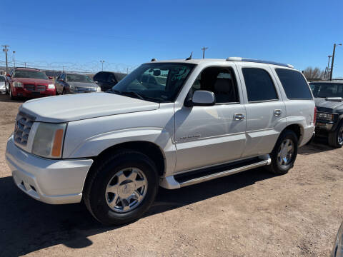 2004 Cadillac Escalade for sale at PYRAMID MOTORS - Fountain Lot in Fountain CO