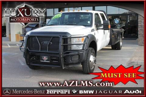 2016 Ford F-550 Super Duty for sale at Luxury Motorsports in Phoenix AZ