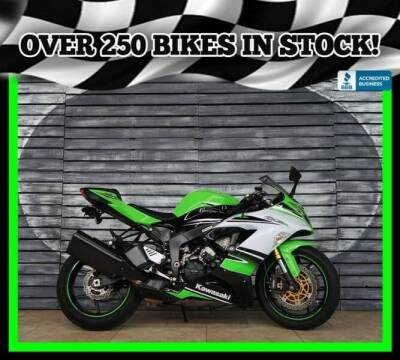 2015 Kawasaki Ninja ZX-6R for sale at Motomaxcycles.com in Mesa AZ