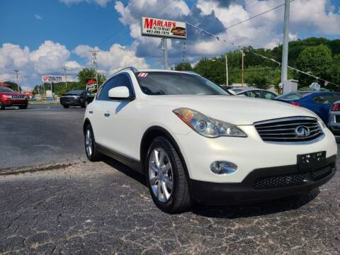 2011 Infiniti EX35 for sale at MARLAR AUTO MART SOUTH in Oneida TN