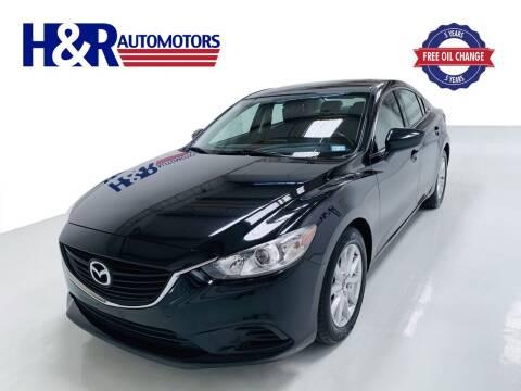 2016 Mazda MAZDA6 for sale at H&R Auto Motors in San Antonio TX