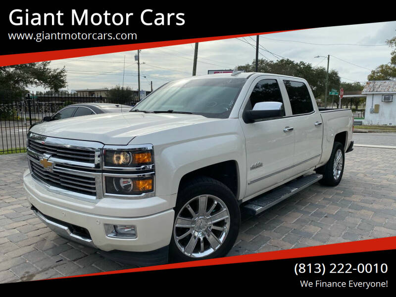 2015 Chevrolet Silverado 1500 for sale at Giant Motor Cars in Tampa FL