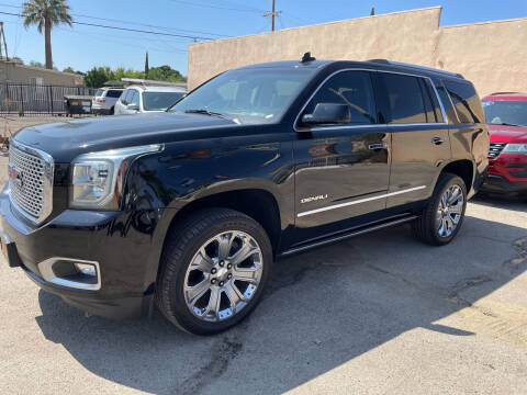 2015 GMC Yukon for sale at JR'S AUTO SALES in Pacoima CA