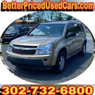 2005 Chevrolet Equinox for sale at Better Priced Used Cars in Frankford DE