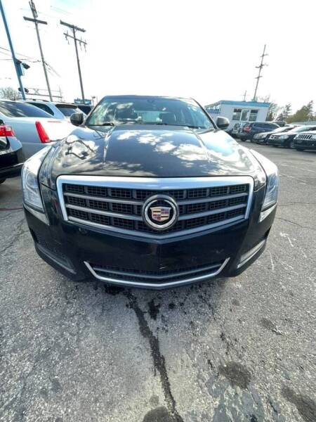 2014 Cadillac ATS for sale at R&R Car Company in Mount Clemens MI