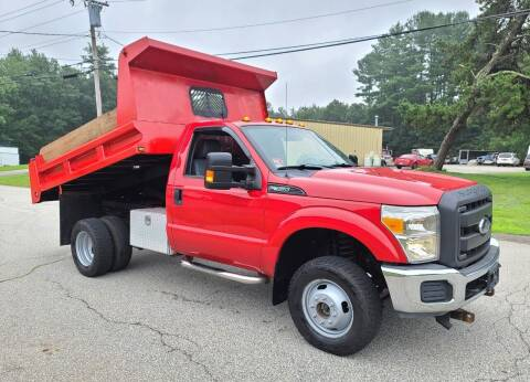 2013 Ford F-350 Super Duty for sale at MILFORD AUTO SALES INC in Hopedale MA