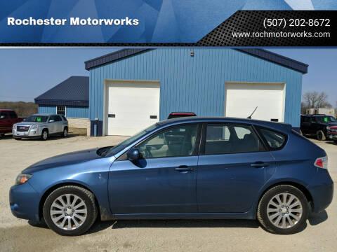 2008 Subaru Impreza for sale at Rochester Motorworks in Rochester MN