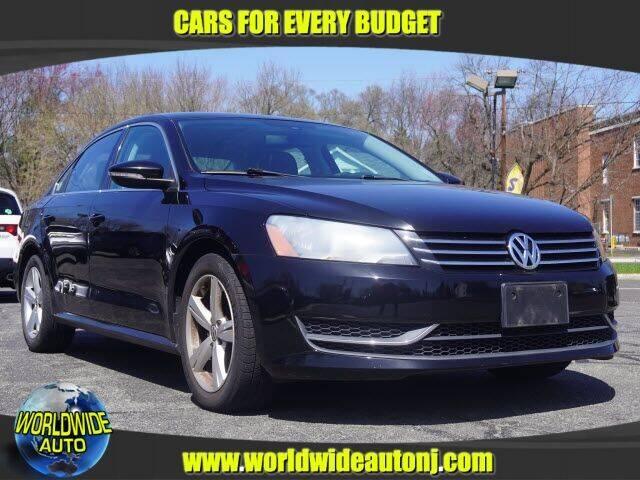 2012 Volkswagen Passat for sale at Worldwide Auto in Hamilton NJ