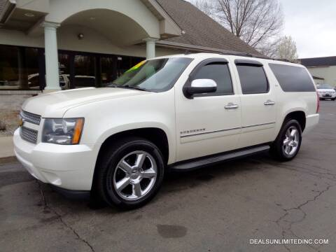 2013 Chevrolet Suburban for sale at DEALS UNLIMITED INC in Portage MI