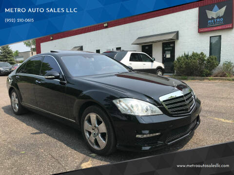 2007 Mercedes-Benz S-Class for sale at METRO AUTO SALES LLC in Blaine MN