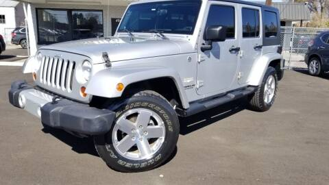 2009 Jeep Wrangler Unlimited for sale at LA Motors LLC in Denver CO
