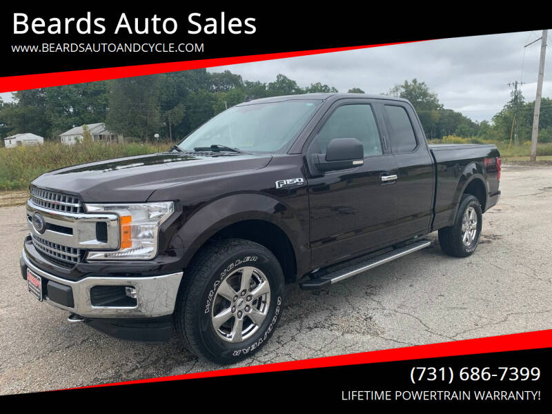 2018 Ford F-150 for sale at Beards Auto Sales in Milan TN