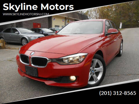 2013 BMW 3 Series for sale at Skyline Motors in Ringwood NJ