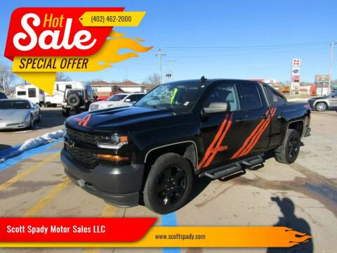 2017 Chevrolet Silverado 1500 for sale at Scott Spady Motor Sales LLC in Hastings NE