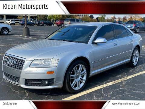 2007 Audi S8 for sale at Klean Motorsports in Skokie IL