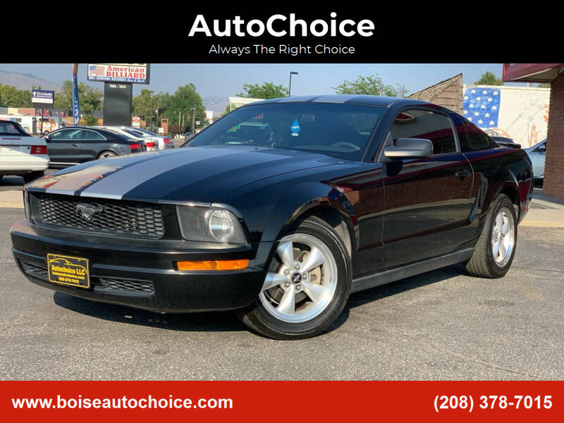 2007 Ford Mustang for sale at AutoChoice in Boise ID