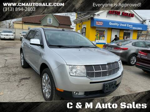 2010 Lincoln MKX for sale at C & M Auto Sales in Detroit MI