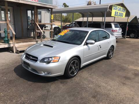 2005 Subaru Legacy for sale at Texas 1 Auto Finance in Kemah TX