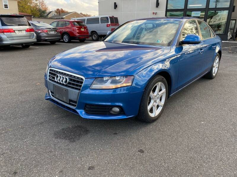 2009 Audi A4 for sale at MAGIC AUTO SALES in Little Ferry NJ