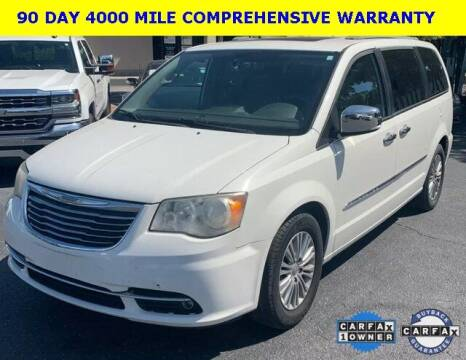 2013 Chrysler Town and Country for sale at PHIL SMITH AUTOMOTIVE GROUP - Tallahassee Ford Lincoln in Tallahassee FL