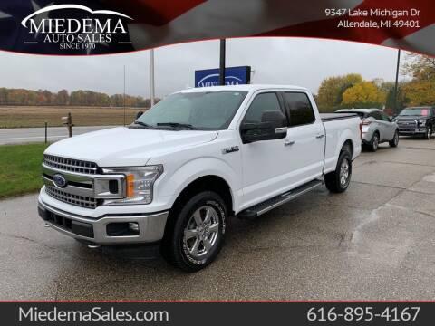 2018 Ford F-150 for sale at Miedema Auto Sales in Allendale MI