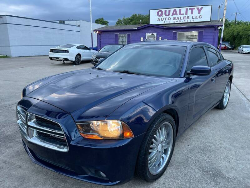 2014 Dodge Charger for sale at Quality Auto Sales LLC in Garland TX