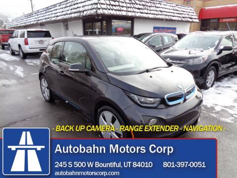 2015 BMW i3 for sale at Autobahn Motors Corp in Bountiful UT