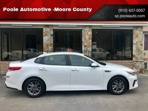 2020 Kia Optima for sale at Poole Automotive -Moore County in Aberdeen NC