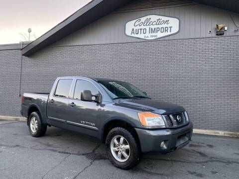 2012 Nissan Titan for sale at Collection Auto Import in Charlotte NC