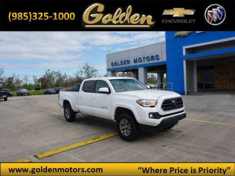 2018 Toyota Tacoma for sale at GOLDEN MOTORS in Cut Off LA