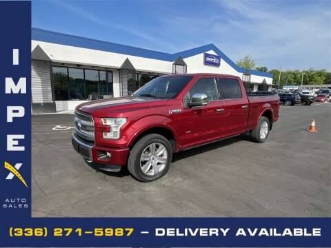 2015 Ford F-150 for sale at Impex Auto Sales in Greensboro NC