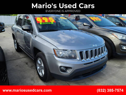 2014 Jeep Compass for sale at Mario's Used Cars - South Houston Location in South Houston TX