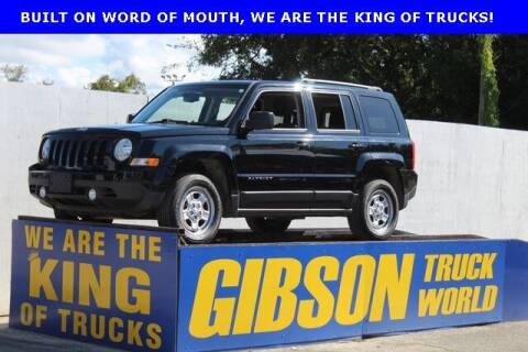 2016 Jeep Patriot for sale at Gibson Truck World in Sanford FL