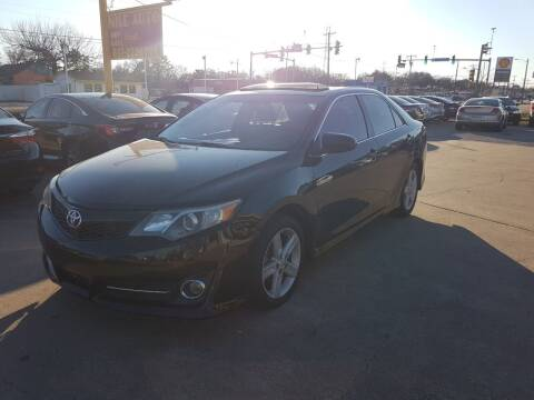 2012 Toyota Camry for sale at Nile Auto in Fort Worth TX