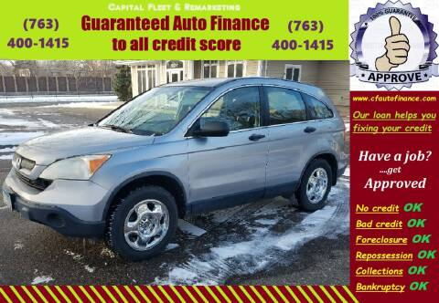 2008 Honda CR-V for sale at Capital Fleet  & Remarketing  Auto Finance in Columbia Heights MN