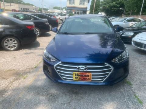 2017 Hyundai Elantra for sale at Unique Motors in Rock Island IL