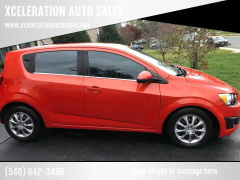 2012 Chevrolet Sonic for sale at XCELERATION AUTO SALES in Chester VA