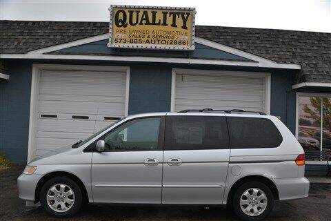 2004 Honda Odyssey for sale at Quality Pre-Owned Automotive in Cuba MO