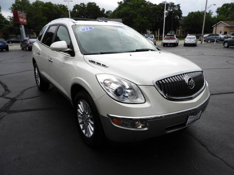 2012 Buick Enclave for sale at Grant Park Auto Sales in Rockford IL