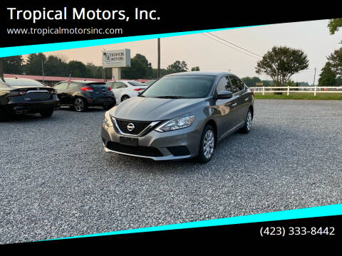 2017 Nissan Sentra for sale at Tropical Motors, Inc. in Riceville TN