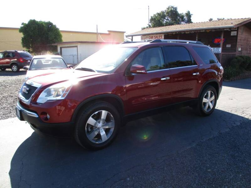 2011 GMC Acadia for sale at Manzanita Car Sales in Gridley CA