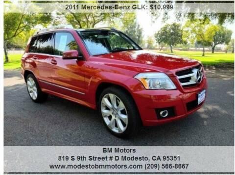 2011 Mercedes-Benz GLK for sale at BM Motors in Modesto CA