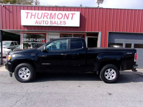 2016 GMC Canyon for sale at THURMONT AUTO SALES in Thurmont MD