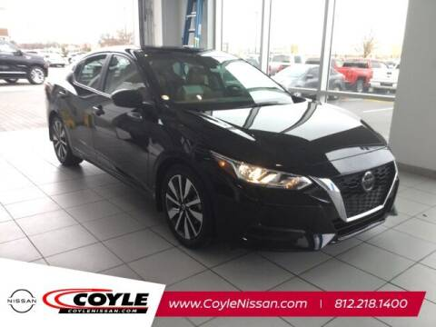 2021 Nissan Sentra for sale at COYLE GM - COYLE NISSAN - Coyle Nissan in Clarksville IN