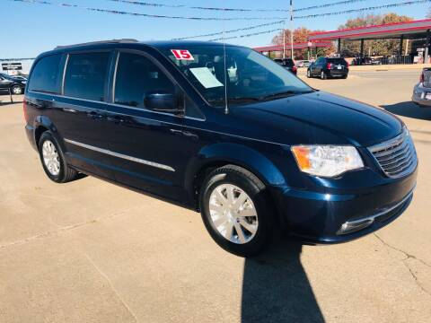 2015 Chrysler Town and Country for sale at Pioneer Auto in Ponca City OK