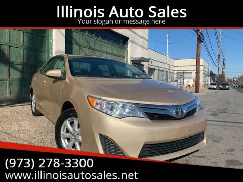 2012 Toyota Camry for sale at Illinois Auto Sales in Paterson NJ