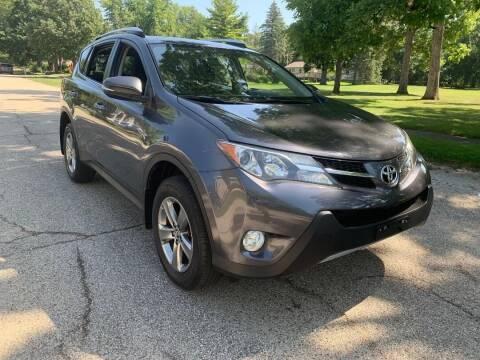 2015 Toyota RAV4 for sale at Triangle Auto Sales in Elgin IL